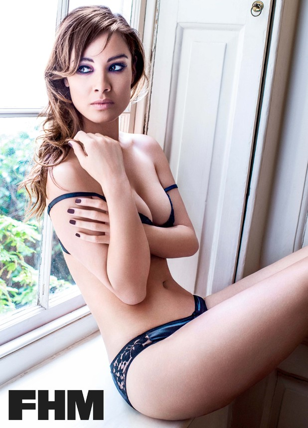 Skyfall star Bérénice Marlohe reveals a sultry photo shoot from this month's FHM Magazine