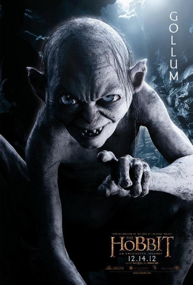 'The Hobbit' character posters: Gollum