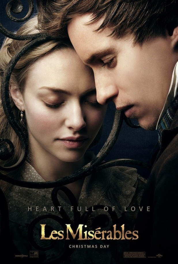 Les Miserables Amanda Seyfried, Eddie Redmayne