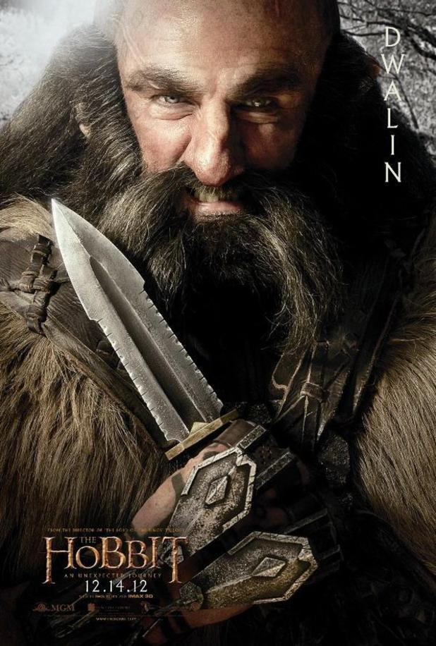 Previous Next 'The Hobbit' character posters: Dwalin 4 of 17