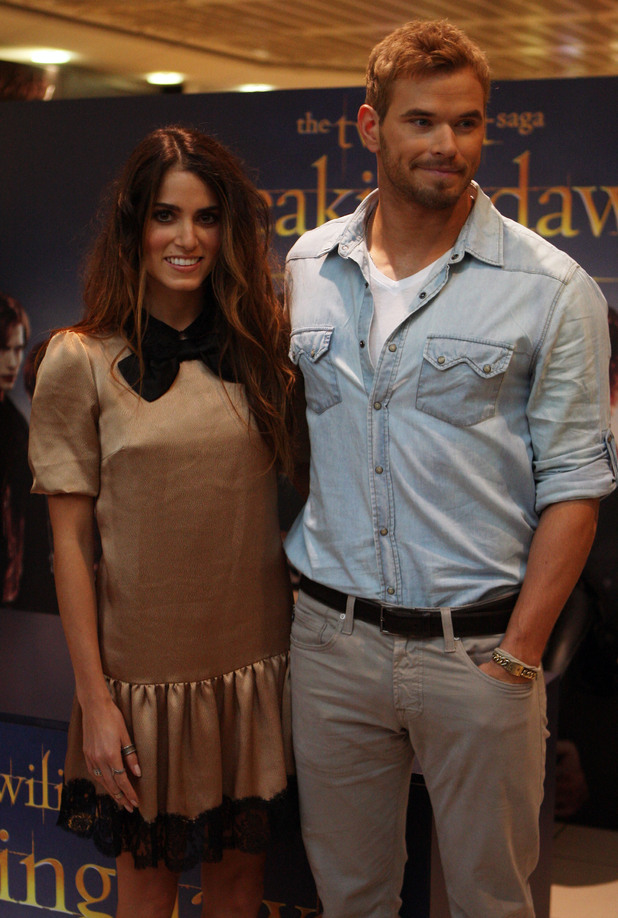 Nikki Reed and Kellan Lutz