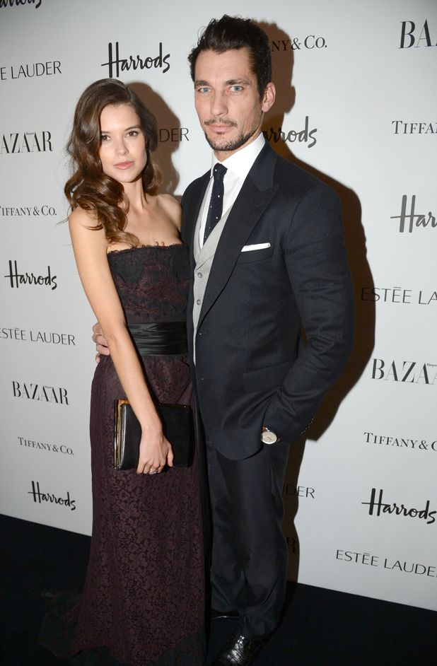 Harper's Bazaar Woman of the Year Awards 2012: David Gandy and Sarah-Ann Macklin