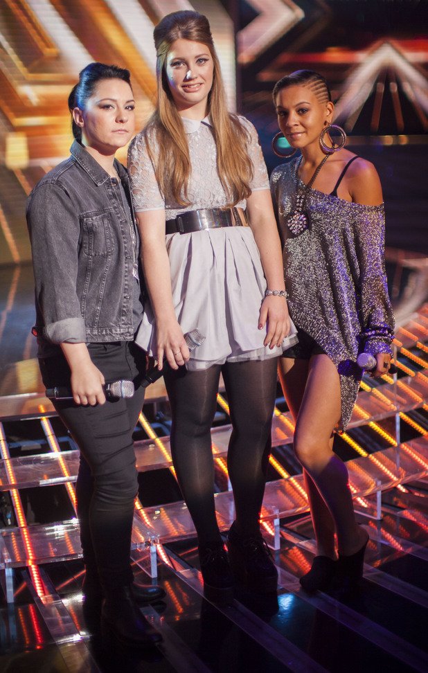 Lucy Spraggan, Ella Henderson and Jade Ellis