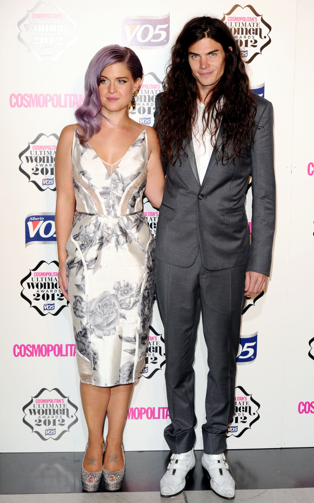 Kelly Osbourne and boyfriend at the Cosmopolitan Ultimate Women Of The Year awards