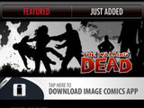 'The Walking Dead' app screenshot