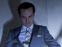 """Moriarty is dead,"" the actor confirms of his villainous character."