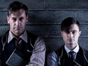Daniel Radcliffe and Jon Hamm will reprise their roles in the Sky Arts series.