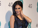 Nicole Scherzinger wears first ever Twitter dress to network EE launch.