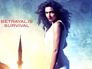 Deepika Padukone in &#39;Race 2&#39; poster