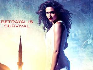 Deepika Padukone in 'Race 2' poster