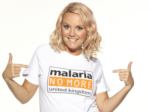 Charlie Brookes supports Malaria No More UK