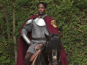 Merlin S05E06 - 'The Dark Tower': Sir Elyan (ADETOMIWA EDUN)