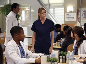 Grey's Antatomy, series nine, episode 1, Wed 7 Nov 2012