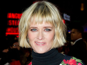 Edith Bowman attending the premiere of Gambit, at the Empire cinema in Leicester Square, London
