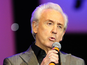 Tony Christie performing at the BBC Radio 2 Elvis Forever concert in Hyde Park in central London.