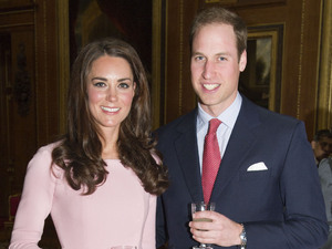 Kate Middleton and Prince William at the Sovereign Monarchs Jubilee Lunch, Windsor Castle, Berkshire, Britain - 18 May 2012