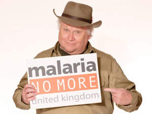 Colin Baker for ' Malaria No More UK'