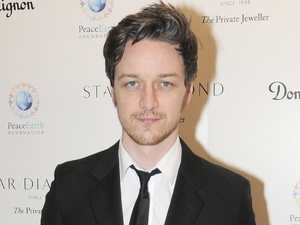 James McAvoy attends the Place For Peace dinner to support the Peace Earth Foundation.