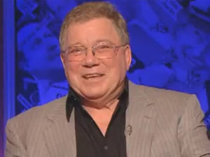 William Shatner presenting Have I Got News for You