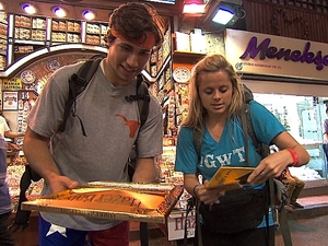 "The Amazing Race - ""Get On Your Sexy"" (04/11/2012): Trey and Lexi"