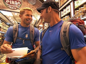"""The Amazing Race - """"Get On Your Sexy"""" (04/11/2012):  Jaymes and James"""