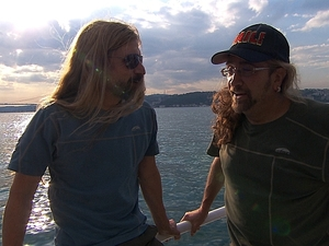 """The Amazing Race - """"Get On Your Sexy"""" (04/11/2012):  James and Abba"""
