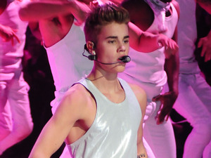 Justin Bieber Performs at the Victoria's Secret Fashion Show at the Lexington Avenue Armory New York City