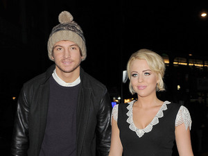 MISS MODE: Tom Kilbey and Lydia Rose-Bright Lipsy Love Fragrance - Arrivals. London, England - 06.11.12 Mandatory Credit: Will Alexander/WENN.com