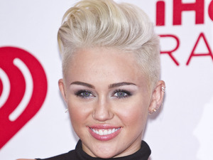Miley Cyrus iHeartRadio Music Festival at MGM Grand Garden Arena- Arrivals Las Vegas, Nevada - 21.09.12 **Available for publication in UK, Germany, Austria, Switzerland. Not available for publication in the rest of the world** Mandatory Credit: Copyright Felix Gonzalez / iPhotoLive.com/WENN.com