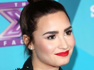 Demi Lovato FOX's 'The X Factor' Finalists Party at the SLS Hotel Beverly Hills - Arrivals Los Angeles, California