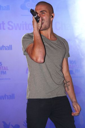 The Wanted, Christmas Light Switch-on Charity Concert, Meadowhall