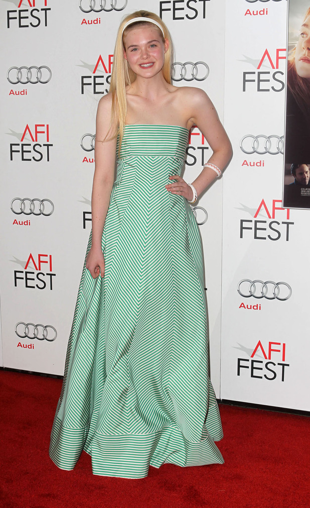 Elle Fanning AFI FEST - 'Ginger & Rosa' Special Screening held at Grauman's Chinese Theatre - ArrivalsHollywood, California