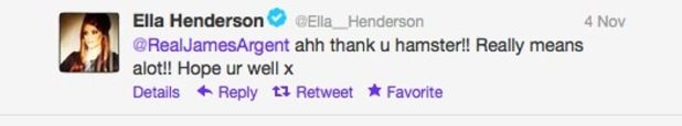 Ella Henderson Twitter
