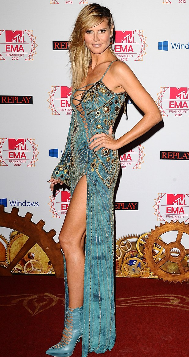 MTV Europe Music Awards: Heidi Klum