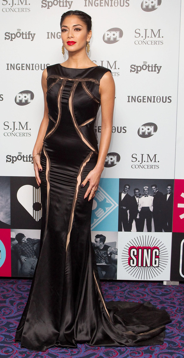 Nicole Scherzinger, 2012 Music Industry Trust Awards,