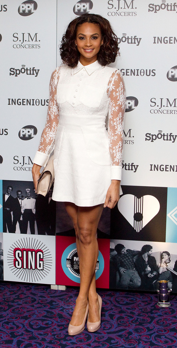 Alesha Dixon, 2012 Music Industry Trust Awards