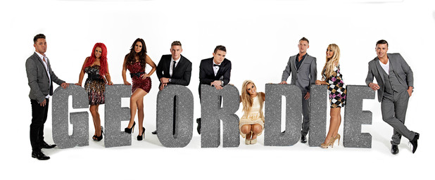 Geordie Shore, series 3, cast shot, Tue 6 Nov 2012
