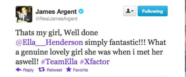 James Argent Twitter