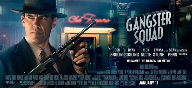 Gangster Squad: Character posters