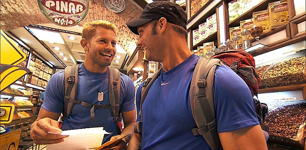 "The Amazing Race - ""Get On Your Sexy"" (04/11/2012):  Jaymes and James"
