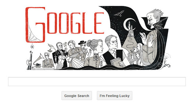 Bram Stoker birthday celebrated in Google Doodle