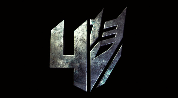 'Transformers 4' logo as posted by Michael Bay