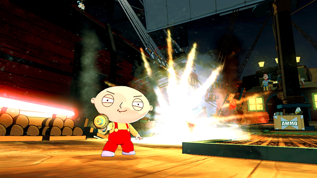 'Family Guy: Back to the Multiverse' screenshot