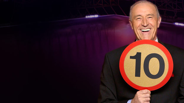 Dancing with the Stars: Len Goodman with '10' paddle
