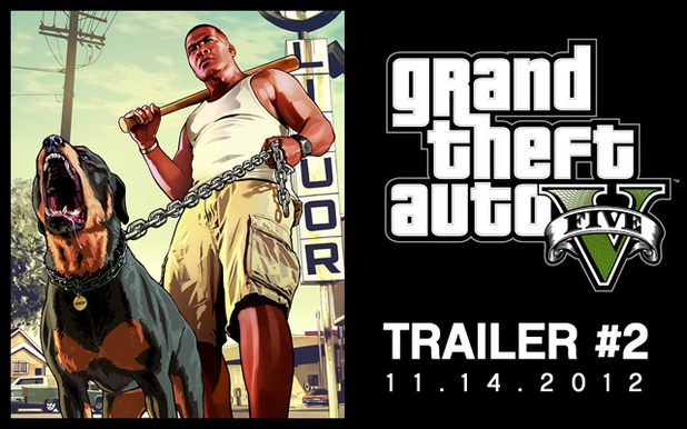 GTA 5 trailer