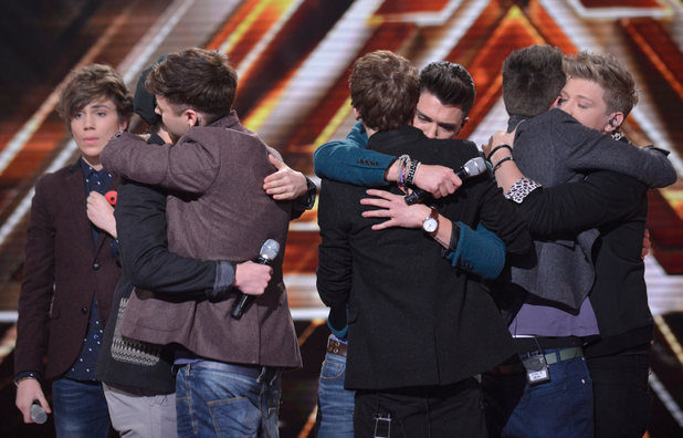 The X Factor Results Show: District 3 leave the competition.