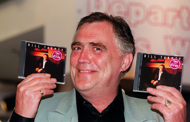 to launch his third album, a selection of ballads and blues called 'After Hours', at the HMV store in London's Trocadero centre.