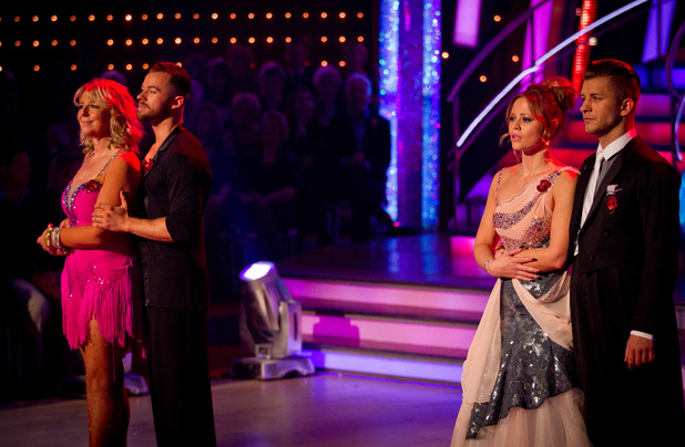 Strictly Come Dancing Weeks 6: Fern and Kimberley are in the bottom two.
