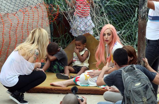 Lady GaGa, Ipanema, Rio de Janeiro, Brazil