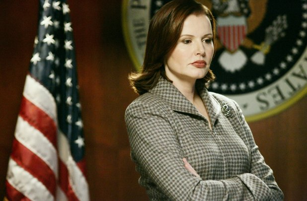 Geena Davis, Commander in Chief